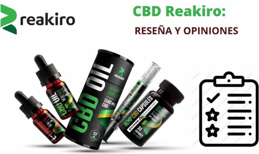 Cbd Reakiro review, opiniones y cupón 2020
