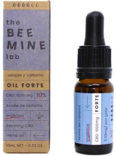 Aceite de CBD The Bee Mine Lab