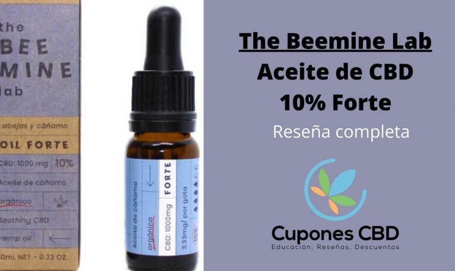Aceite de CBD 10% The BeeMine Lab: reseña