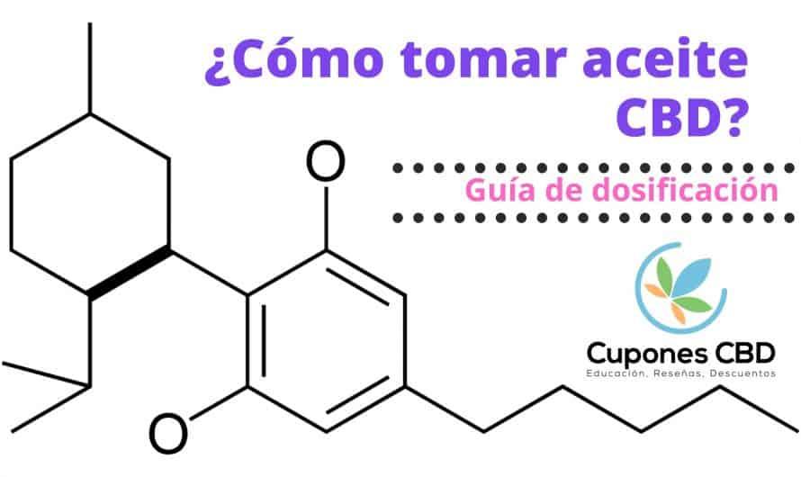 ¿Cómo tomar aceite de CBD? Dosificación del CBD