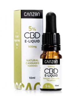 E liquid Canzon 500mg, natural cannabis terpenes