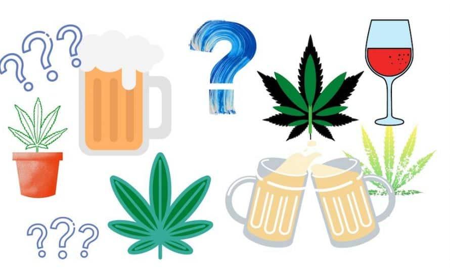 ¿Es peligroso mezclar CBD con alcohol?