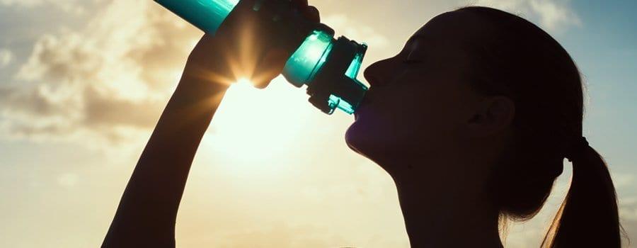 agua de CBD