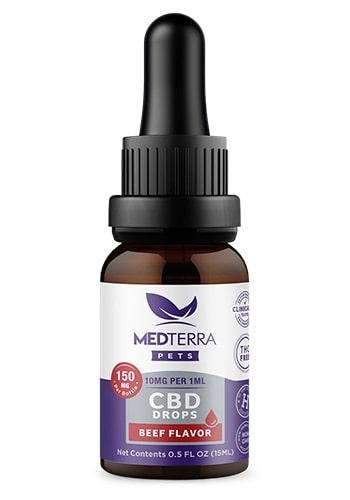 Aceite de CBD para mascotas Medterra