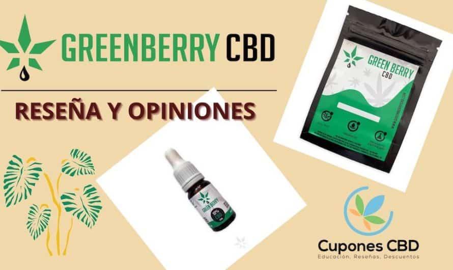 GreenBerry CBD reseña y opiniones [cupón de descuento]